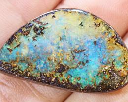 29.29 carats  Boulder Opal Polished ANO 689