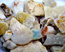 250 CTS WHITE OPAL ROUGH (PARCEL) COOBERPEDY DT-5328