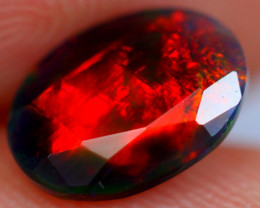 1.00cts Ethiopian Smoked  Faceted Welo Opal / EB55