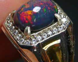 49.60 CT Beautiful Welo Smoked Opal Ring Jewelry