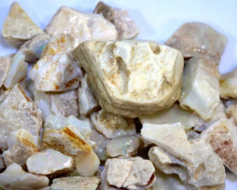 250 CTS- WHITE OPAL ROUGH (PARCEL) COOBERPEDY DT-5399