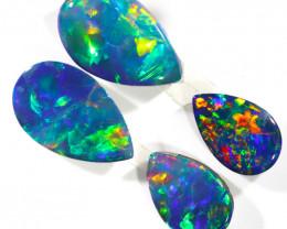 1.5Cts Gem  Pair Opal Doublets  OPJ 2100