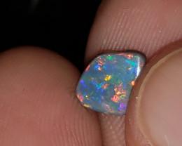 Lightning ridge solid black opals 1.3 carats