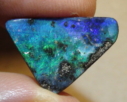 5.85 ct Blue Green Color Queensland Boulder Opal