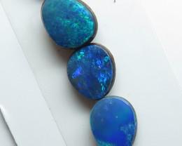 5  Stone Australian Doublet Opal Free form Parcel