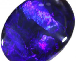 42.30 CTS BLACK OPAL STONE-BLUE  -LIGHTNING RIDGE- [ST4]