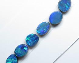 6 Stone Australian Doublet Opal Free From Parcel