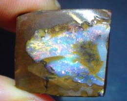 16.65 ct Beautiful Multi Color Queensland Boulder Opal Rough Rub