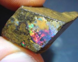 18.10 ct Gem Multi Color Queensland Boulder Opal Rough Rub