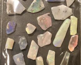 50cts Mintabie Opal Rubs