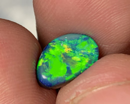 JEWELLERY GRADE DOUBLET; SUPER BRIGHT- 2 CTs of Australian Opal Doublet, #7