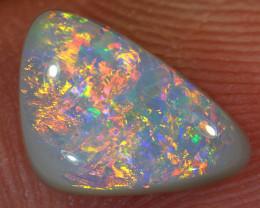 1.3ct 9x6.5mm Solid Lightning Ridge Dark Opal [LO-1643]