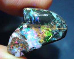 9.90 ct Stunning Gem Multi Color Solid Boulder Opal Rub
