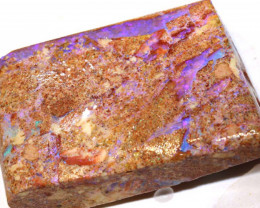 175.85-CTS  BOULDER OPAL PIPE ROUGH  DT-8249