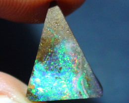 3.40 ct Gem Multi Color Solid Boulder Opal Rough Rough Rub