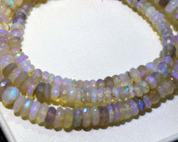 58 CTS CRYSTAL OPAL FACETED BEADS STRAND TBO-9241