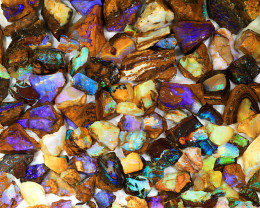 800ct Natural Yowah Boulder Opal Rough Parcel [BRP-088]