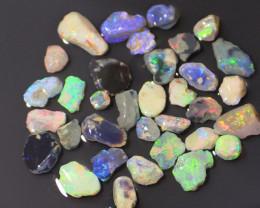 66.10 ct lightning ridge rough opals