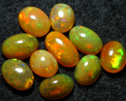 12.70cts 10 PCS Beautiful Color Natural Ethiopian Welo Opal