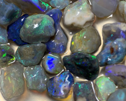 90 CTs GEM ROUGH; Lightning Ridge Rough Opals,#765