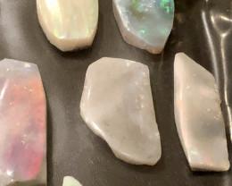 107cts Mintabie Opal Rubs