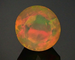 2.15ct Faceted Round Welo Opal