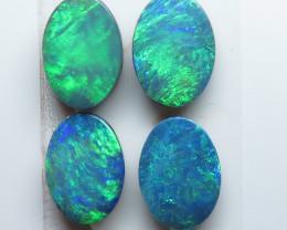 7x5mm  4 Stone Australian Doublet Opal Parcel