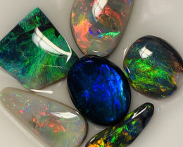 SUPER CLEAN MULTICOLOUR BRIGHT GEM GRADE RUBS #069