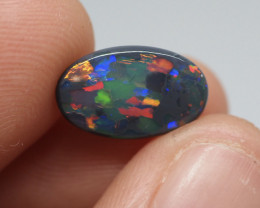 1.96CT Black Opal  Lightning Ridge  17.5839