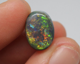 4.45CT Black Opal  Lightning Ridge  JS
