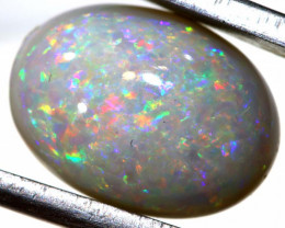 4.55 CTS  L.RIDGE DARK BASE  OPAL  POLISHED STONE TBO-9350