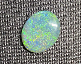 GREEN PIFIRE PATTER  FIRE STONE DOUBLE SIDED FIRE 1.70 CTS  L 2977
