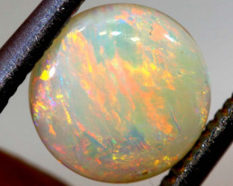 1.35 CTS  L.RIDGE WHITE  OPAL  POLISHED STONE TBO-9353