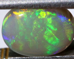 2.54 CTS  L.RIDGE DARK BASE OPAL  POLISHED STONE TBO-9363