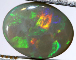 2.14 CTS  L.RIDGE DARK BASEOPAL  POLISHED STONE TBO-9365