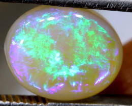 3.32 CTS  L.RIDGE DARK BASE OPAL  POLISHED STONE TBO-9366
