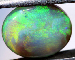 2.87 CTS  L.RIDGE DARK BASE OPAL  POLISHED STONE TBO-9367