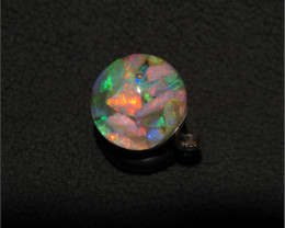 Floating Opals Necklace pendant 6 + Carats beautiful bright Lightning Ridge
