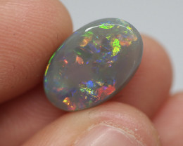 4.00CT Dark Opal Lightning Ridge 15-0001