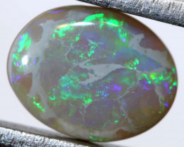 1.07 CTS  L.RIDGE DARK BASE OPAL  POLISHED STONE TBO-9383