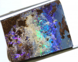 97CTS - BOULDER OPAL ROUGH (2-PCS)  DT-5573