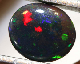 1.80 CTS  L.RIDGE BLACK CRYSTAL OPAL  POLISHED STONE TBO-9418