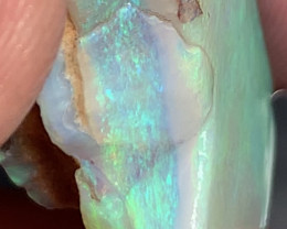 ROUGH TO CUT GEM; 34 CTs of Beautiful Solid/Natural Lightning Ridge Opal, #