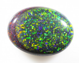 7.6 Cts Collectors Andamooka opal cut 80's   OPJ 2201