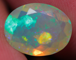 1.68CT  10X8MM Top Quality Welo  Ethiopian  Faceted Opal-ECF502