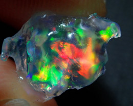 2.08ct Mexican Rough Multicoloured Fire Opal