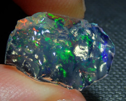5ct Mexican Rough Multicoloured Fire Opal