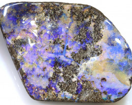 140 CTS  BOULDER OPAL CUT STONE DRILLED TBO-23