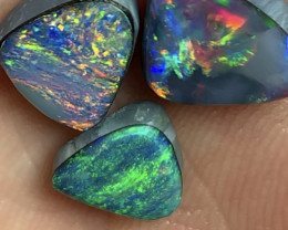 Gorgeous Doublets; 6.5 CTs of Natural Australian Opal Doublets, #837