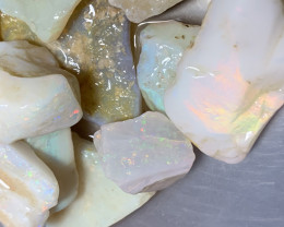 378 Cts of Beautiful White Cliffs Rough Opals,#830